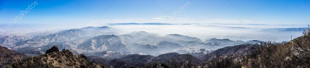 Panoramic View from the Summit of Mt. Diablo