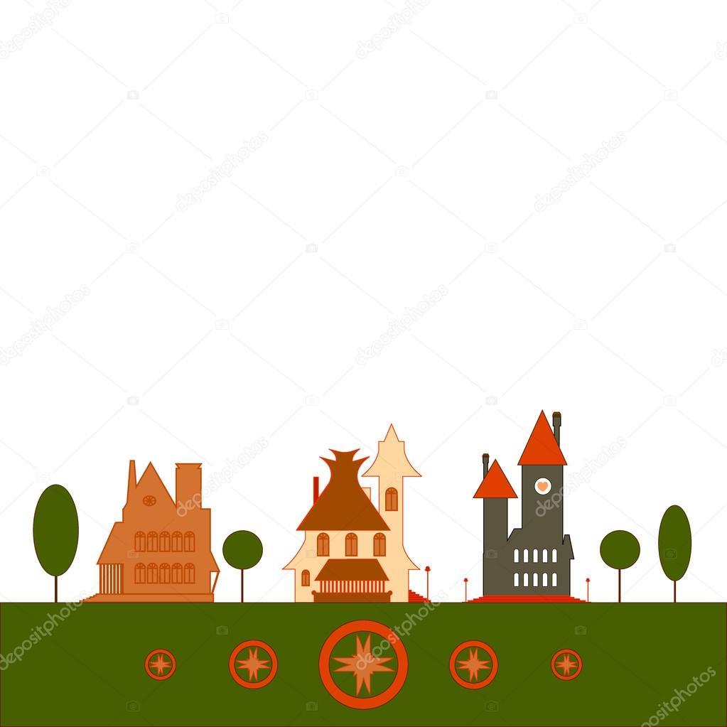 Houses set