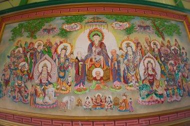 "Картина, постер, плакат, фотообои ""танка в китайский храм"", артикул 22838450"