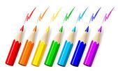 Fotografie vektorové tužky