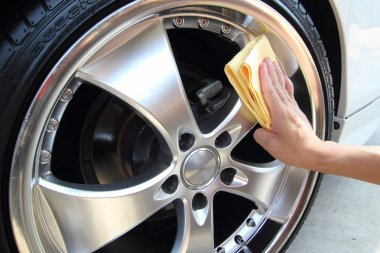 Coated wheels