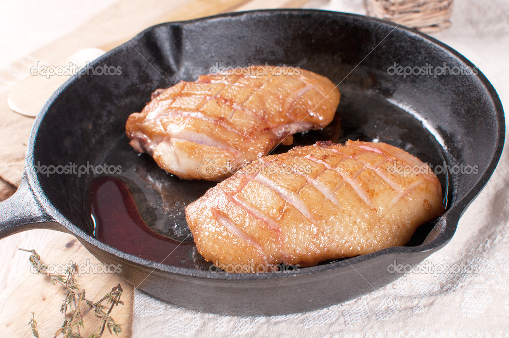 How to fry duck breasts