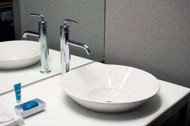 Bathroom sink with modern design