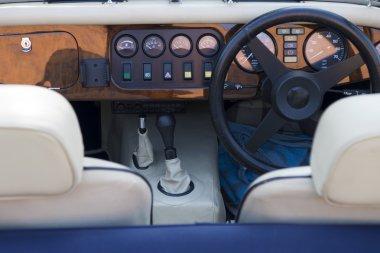 Vintage Car Cockpit