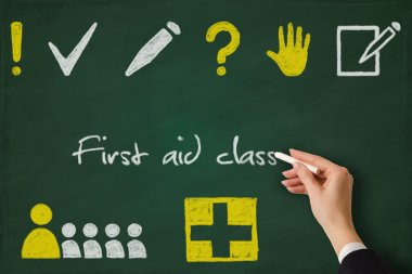 First aid class