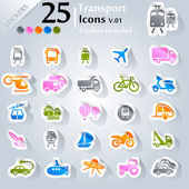Photo Transport Icons v.01