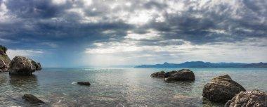 Panorama. Seascape.