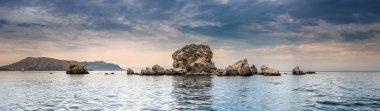 Panorama. Seascape. Crimean Peninsula