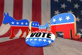 Photo Vote Democrat or Republican