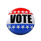 Photo Isolated Vote Badge