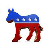 Photo Isolated Democrat Party Symbol