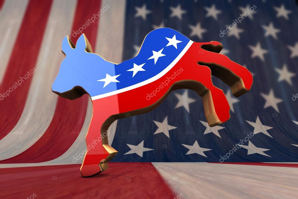 Democrat Party Symbol Stock Photo Cowardlion 31285651