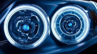 Headlights of a Car