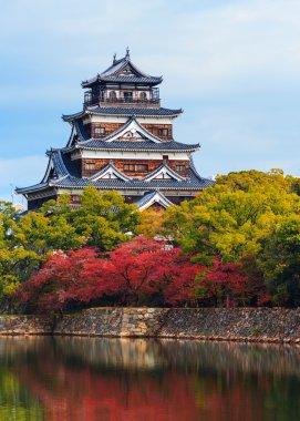 Hiroshima Castle in Autumn