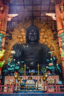The Great Buddha (Daibutsu) at Todaiji Temple in Nara