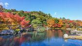 tenryuji sogenchi rybník zahrada světového dědictví UNESCO v Kjótu