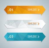Fotografie vektorové barevné textové pole