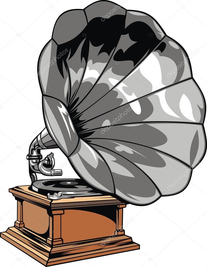 old gramophone stock vector c pepeemilio2 26406867 old gramophone stock vector c pepeemilio2 26406867