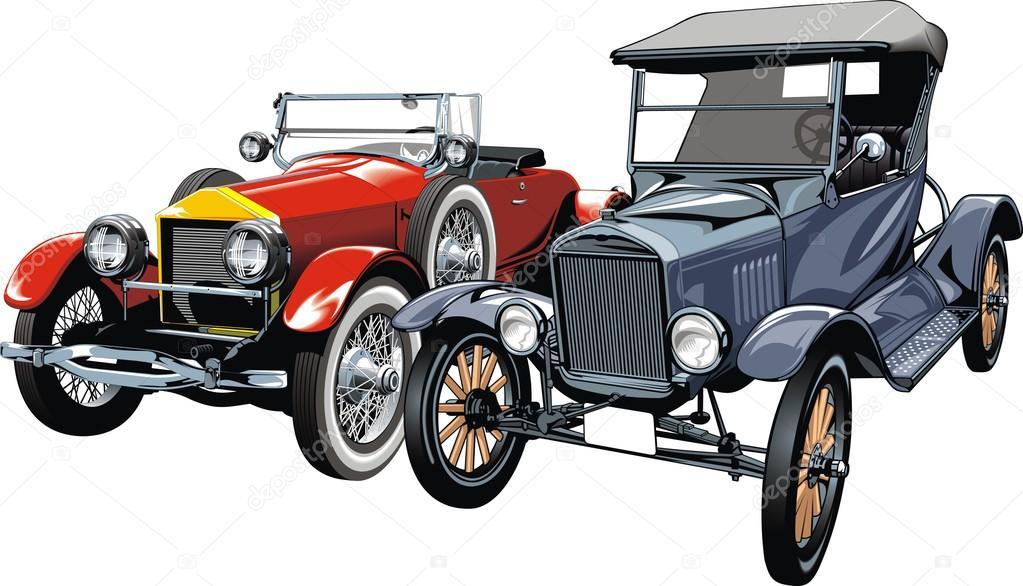 old sport cars (my original design) — Stock Vector © pepeemilio2 ...