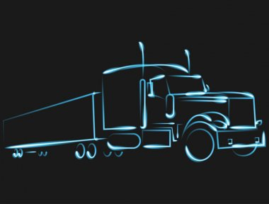 Trucking, car