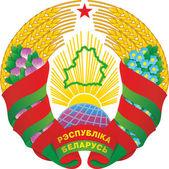 Das Zustand-Emblem der Republik belarus