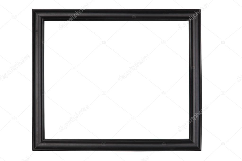 marco de madera negra — Fotos de Stock © andreysafonov #35247955