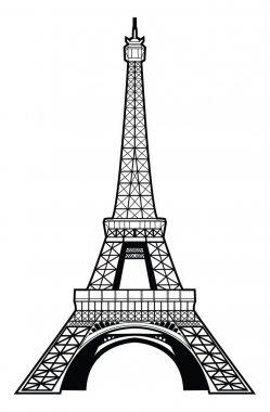 Illustration of eiffel tower