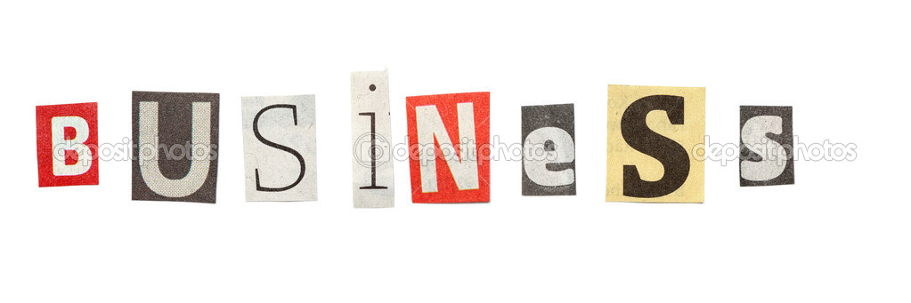 Business cutout newspaper letters stock photo michaeljayfoto business words composed from isolated cutout newspaper letters photo by michaeljayfoto spiritdancerdesigns Gallery