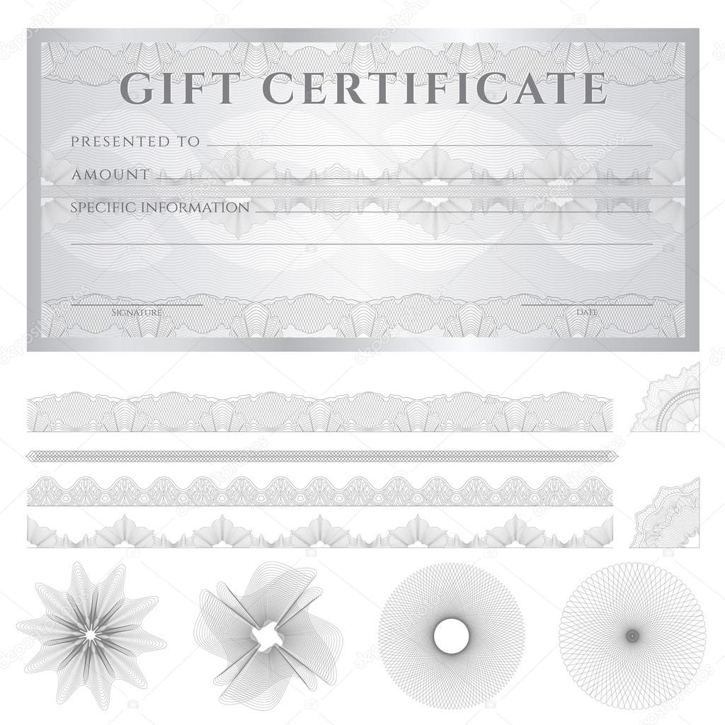 Gift certificate voucher coupon template layout for Cheque voucher template
