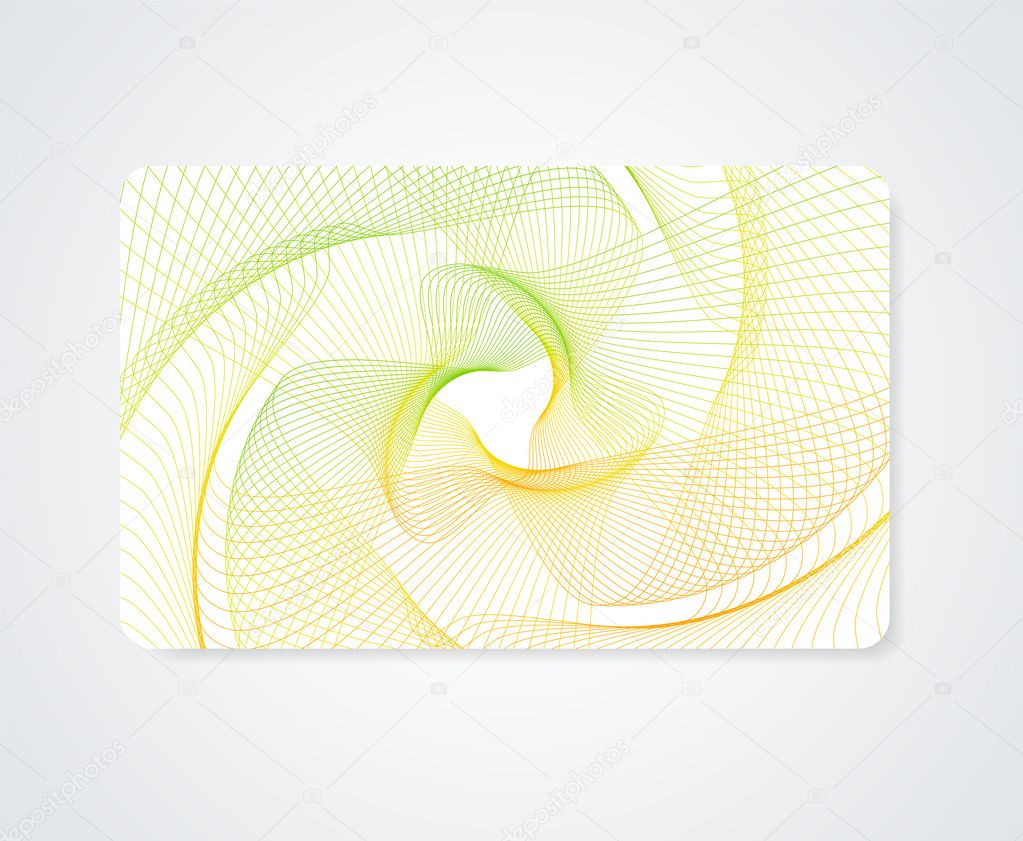 Colorful Business card, Gift card, Discount card template (layout ...