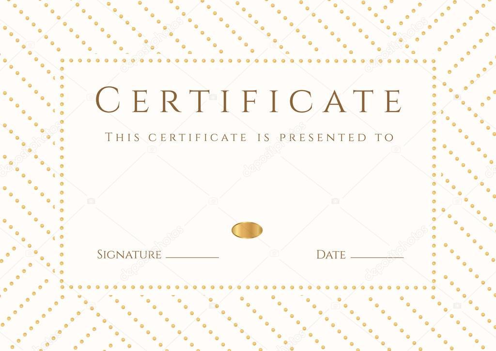 certificado, diploma de terminación (plantilla, antecedentes). marco ...