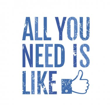 Social media, like