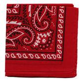 Fotografia tessuto di bandana o fazzoletto rosso ad alta risoluzione per sfondi
