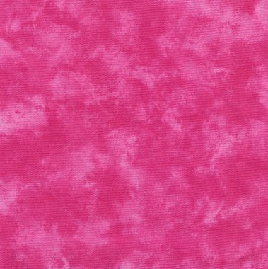 A high resolution bright pink fabric that looks like tie dye or paint