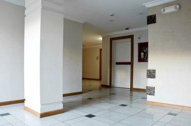 Empty hall stock vector