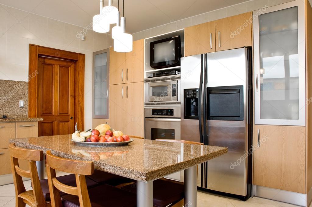 Interior Design Series Classic And Modern Kitchen Stock