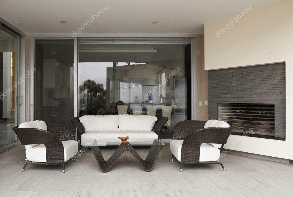 Interieur moderne woonkamer u stok foto scornejor