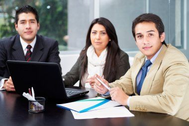Group of business at office
