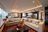 Fotografia Interior design: grande salone moderno