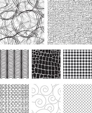 Seamless Vector Pattern Fills & Textures.