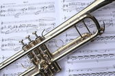 trubku a hudba