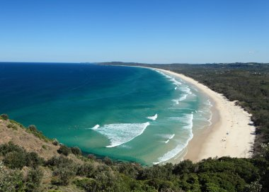 Tallow Beach at Byron Bay NSW Australia