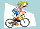 konkurenční cyklista