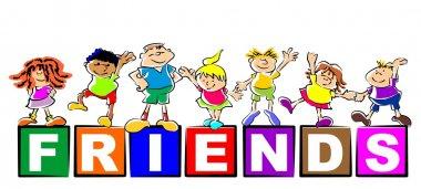 Children friends