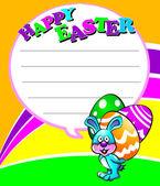 Fotografie Happy Easter Little Rabbit