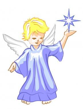 Angel with Star Lightl