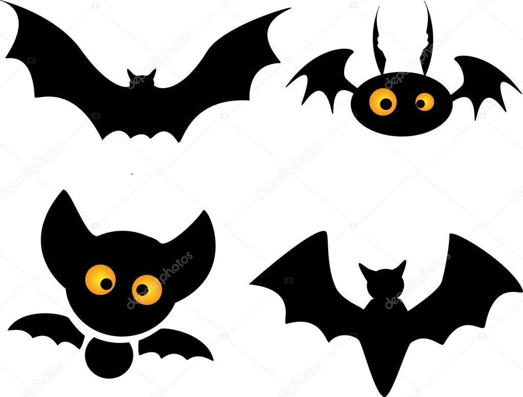 Vector halloween murcielagos fondo de halloween vector con murci lagos y luna vector de - Murcielagos para halloween ...