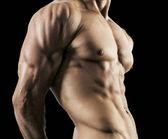 polovinu nahý sexy tělo