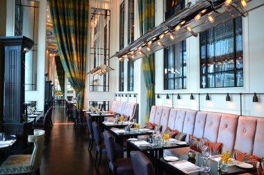 Main dining room in fine dining restaurant
