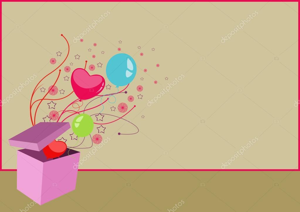happy birthday card background — stock photo © istonehun